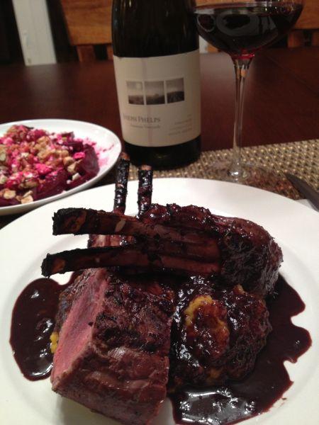 how to cook lamb rib roast rack