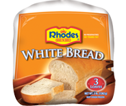 Rhodes white bread